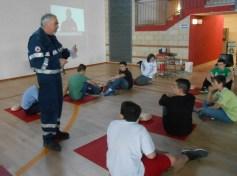La Croce rossa alla Bonfigli insegna il primo soccorso 20