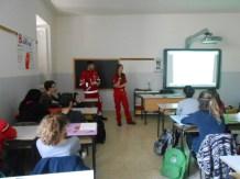 La Croce rossa alla Bonfigli insegna il primo soccorso 5