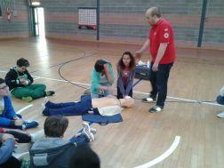 La Croce rossa alla Bonfigli insegna il primo soccorso 26