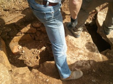 Ritrovata una tomba romana a Capocavallo, ecco le foto 1