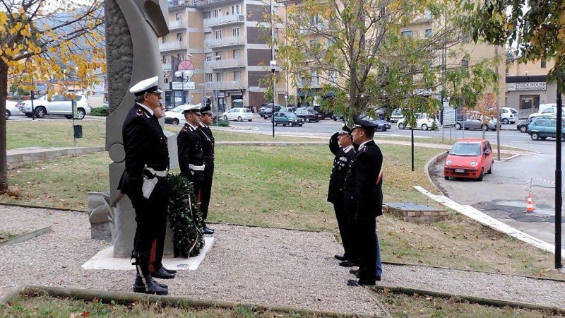 Attentato di Nassiriya, celebrazione in Piazza Carabinieri a Ellera