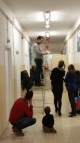 I bambini delle elementari presentano i loro lavori nella Sala del Consiglio Comunale 4