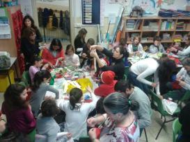 I bambini delle elementari presentano i loro lavori nella Sala del Consiglio Comunale 5