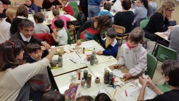 I bambini delle elementari presentano i loro lavori nella Sala del Consiglio Comunale 6