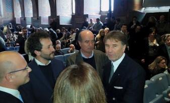 Brunello Cucinelli riceve i sigilli della città di Perugia 1