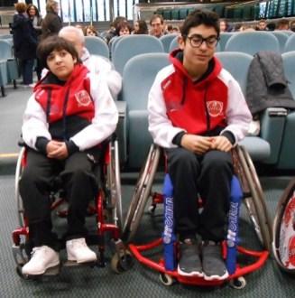 Due giovani corcianesi nella prima squadra italiana di pallamano in carrozzina 8