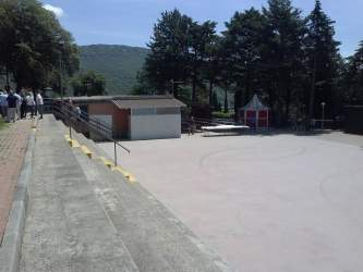 Ex Colonia, inaugurato il nuovo parco affidato all'APD di Corciano 2