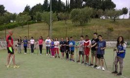 Ultimo giorno di scuola per la Bonfigli all'insegna dello sport con Nordic e Orienteering 3