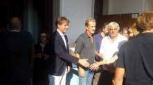 Cucinelli al funerale di Antonio Ceccarini 'Il Tigre' dà l'ultimo saluto all'amico e collega 5