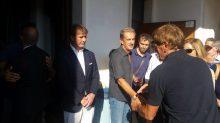 Cucinelli al funerale di Antonio Ceccarini 'Il Tigre' dà l'ultimo saluto all'amico e collega 4