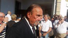 Cucinelli al funerale di Antonio Ceccarini 'Il Tigre' dà l'ultimo saluto all'amico e collega 2
