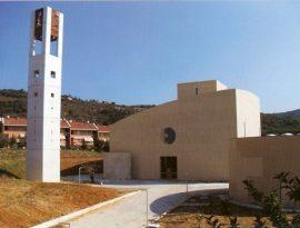 la nuova chiesa santa maria della speranza in olmo pg