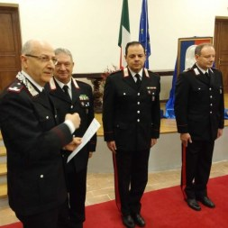 Encomio per i carabinieri di Corciano, la cerimonia nella festa della Virgo Fidelis 2