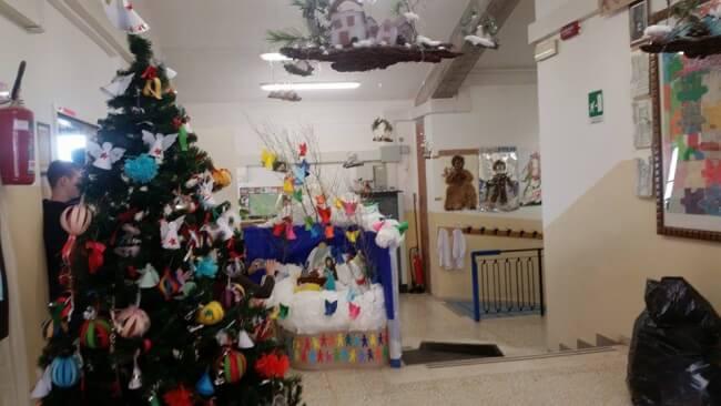 Natale: alla scuola primaria di Corciano laboratori per realizzare addobbi e lavoretti 12
