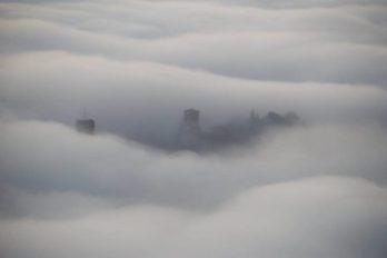 Umbria nella nebbia, anche Corciano 'immersa': da mercoledì invece si abbassano le temperature 6