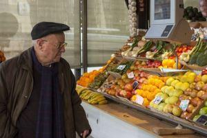 anziani centenario cibo coldiretti qualità economia glocal