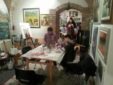 La Bottega del pittore compie un anno: il 20 febbraio si brinda al futuro 2