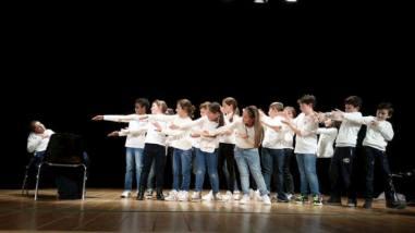 Alle primarie Bonfigli i bambini imparano l'inglese...recitando 9