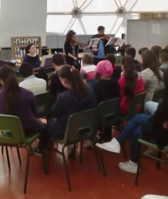 Gli studenti del Conservatorio di Perugia si esibiscono all'Istituto Benedetto Bonfigli 1