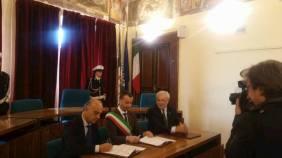 Uniti contro le infiltrazioni mafiose: firmato a Corciano il patto per la sicurezza 5