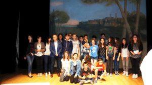 premio 8 marzo - foto di gruppo delle classi    vincitrici