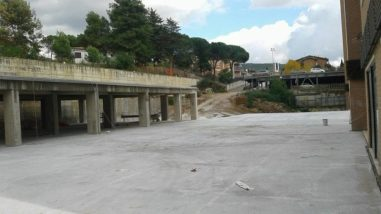 Ellera 2000: i lavori proseguono al pari della messa in sicurezza esterna del Teatro Girasole 1