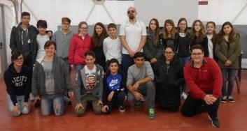 Gli allievi dell'Istituto Benedetto Bonfigli incontrano il Campione Paralimpico Ubaldo Cecilioni 5
