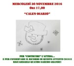 """Alla Biblioteca Rodari arriva il laboratorio gratuito per bambini """"Calen-Diario"""""""