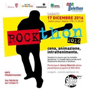 cena malattie genetiche raccolta fondi Rockthon spettacolo telethon corciano-centro ellera-chiugiana