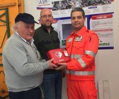 """Collocati i tre defibrillatori di """"Dai ritmo alla vita"""" 2"""
