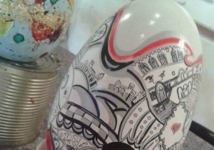 arte bambini colori eventi pasqua pittura uovo corciano-centro cronaca