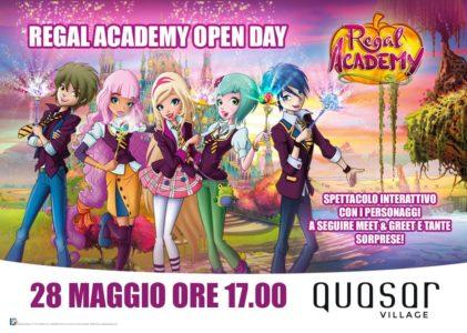 bambini intrattenimento open day quasar village Regal Academy spettacolo corciano-centro ellera-chiugiana