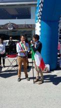 Al via la Coppa della Perugina, la partenza a Corciano con Betti e Romizi 2