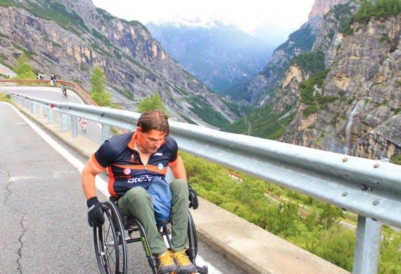 """Luca Panichi, lo scalatore in carrozzina: """"23 anni fa l'incidente che mi ha cambiato la vita"""""""