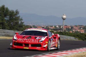 vettura di Andrea Gagliardini 300x200 - Motori, le Ferrari umbre della CdP-De Poi trionfano a Budapest