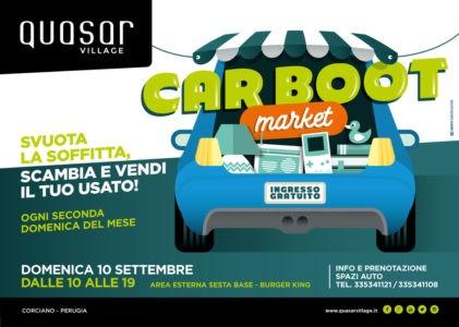 car boot centro commerciale mercatino quasar village scambio usato ellera-chiugiana