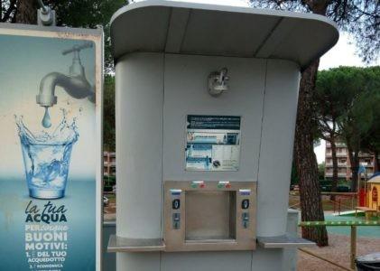 acqua fontanella furto cronaca san-mariano