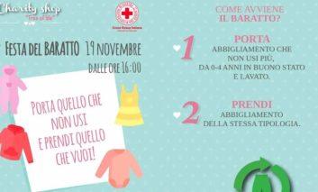 La Croce Rossa di Corciano organizza la prima festa del baratto