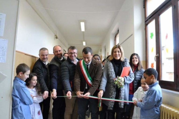 La Presidente Marini alla riconsegna delle scuole corcianesi dopo i lavori costati oltre 410 mila euro 1
