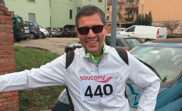 Sport e disabilità: Luca Aiello dei L'Unatici ha portato a termine la maratona di San Valentino