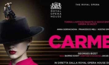 La Carmen in diretta dalla Royal Opera House  nei cinema The Space