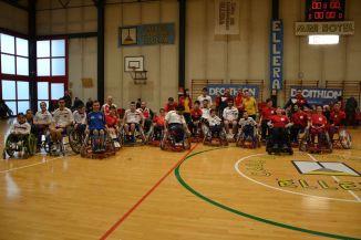 cip comitato paralimpico pallamano in carrozzia ellera-chiugiana sport