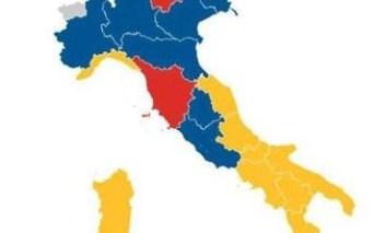 Politiche 2018 - L'analisi: addio Regioni Rosse, persi 30 punti dal 1968