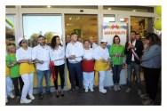 inaugurazione punto vendita supermercato tigre economia mantignana