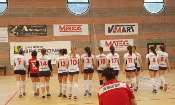 Pallavolo femminile: Graficonsul San Mariano sconfitta al tie break a Città di Castello