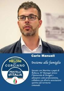 Carlo 212x300 - Elezioni a Corciano: presentata la lista di Fratelli d'Italia per Franco Testi