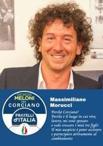 Massimiliano 212x300 - Elezioni a Corciano: presentata la lista di Fratelli d'Italia per Franco Testi