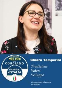 chiara t 212x300 - Elezioni a Corciano: presentata la lista di Fratelli d'Italia per Franco Testi