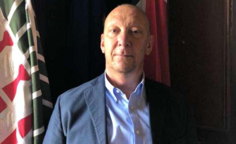 Il presidente del consiglio comunale Federico Fornari (Betti sindaco)