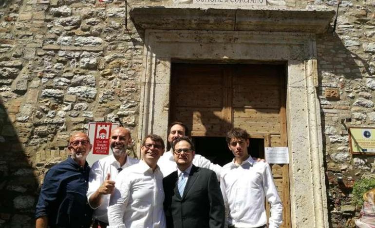 Il gruppo della Lega con i consiglieri Franco Testi, Roberto Bracco e Gianluca Taburchi